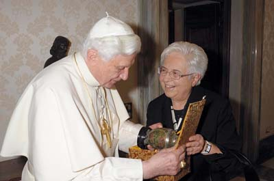Benedikt XVI. in Maria Voce
