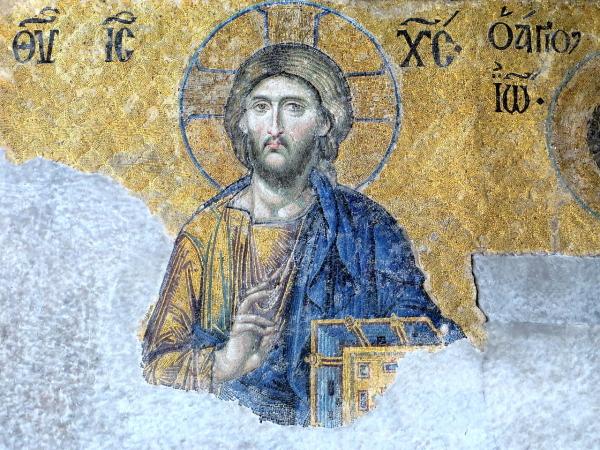 ikona Vstali Jezus